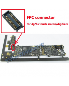 Apple iPhone 4G Touch Screen Connector