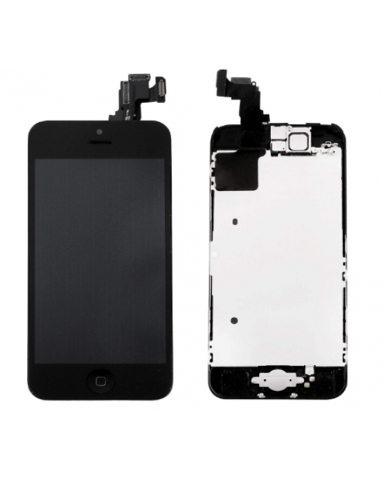 For Apple iPhone 5C Black LCD