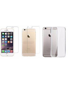 Apple iPhone 6 plus Front and Back Tempered Glass