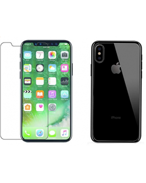 Apple iPhone X Front and Back Tempered Glass
