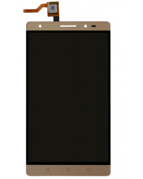 Lenovo Phab 2 plus LCD Touch Screen Digitizer Gold