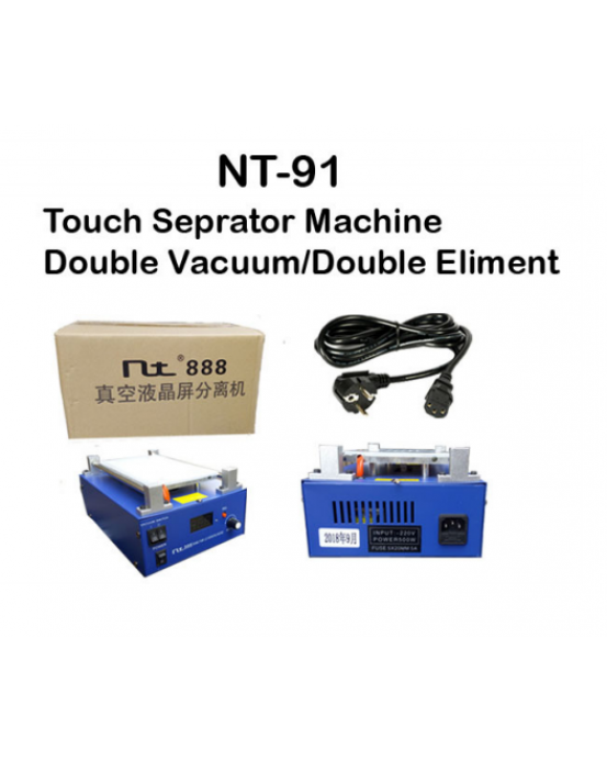 Nt Touch Seperator Machine Double Vacuum Double Eliment