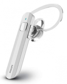 Philips SHB1623  White Mono Bluetooth Headset