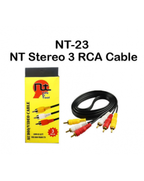 Stereo 3 RCA Cable